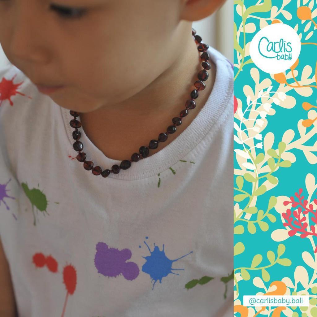 Kalung Amber N Anti Rewel Untuk Bayi Tumbuh Gigi Shopee Sohoku Pria Taring Motif Hiu Indonesia