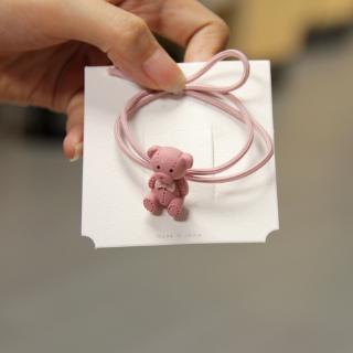 Ikat Rambut Bentuk Boneka Beruang Aneka Warna untuk Wanita 6
