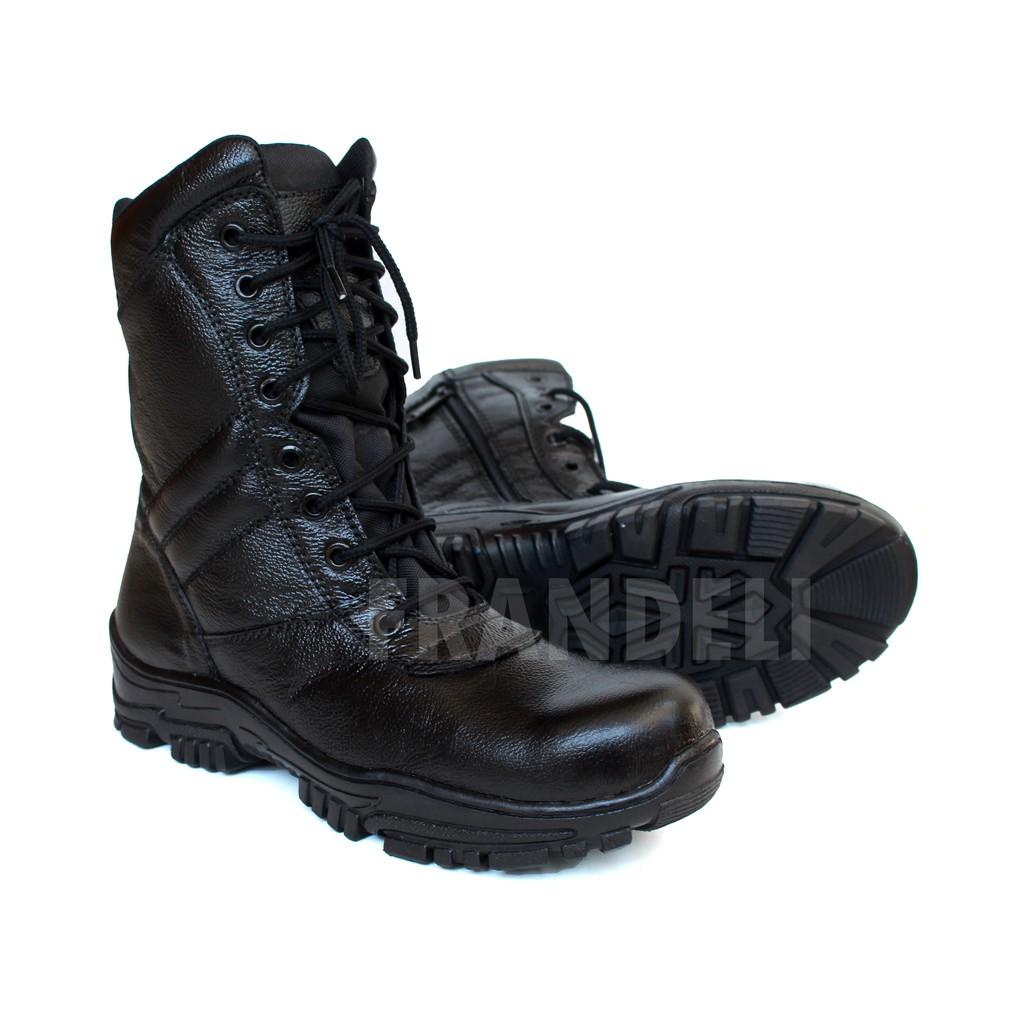 FRNDL - ELASTICO BROWN | Sepatu Safety Boots Pria Kerja Outdoor Semi Kulit Original | Shopee Indonesia