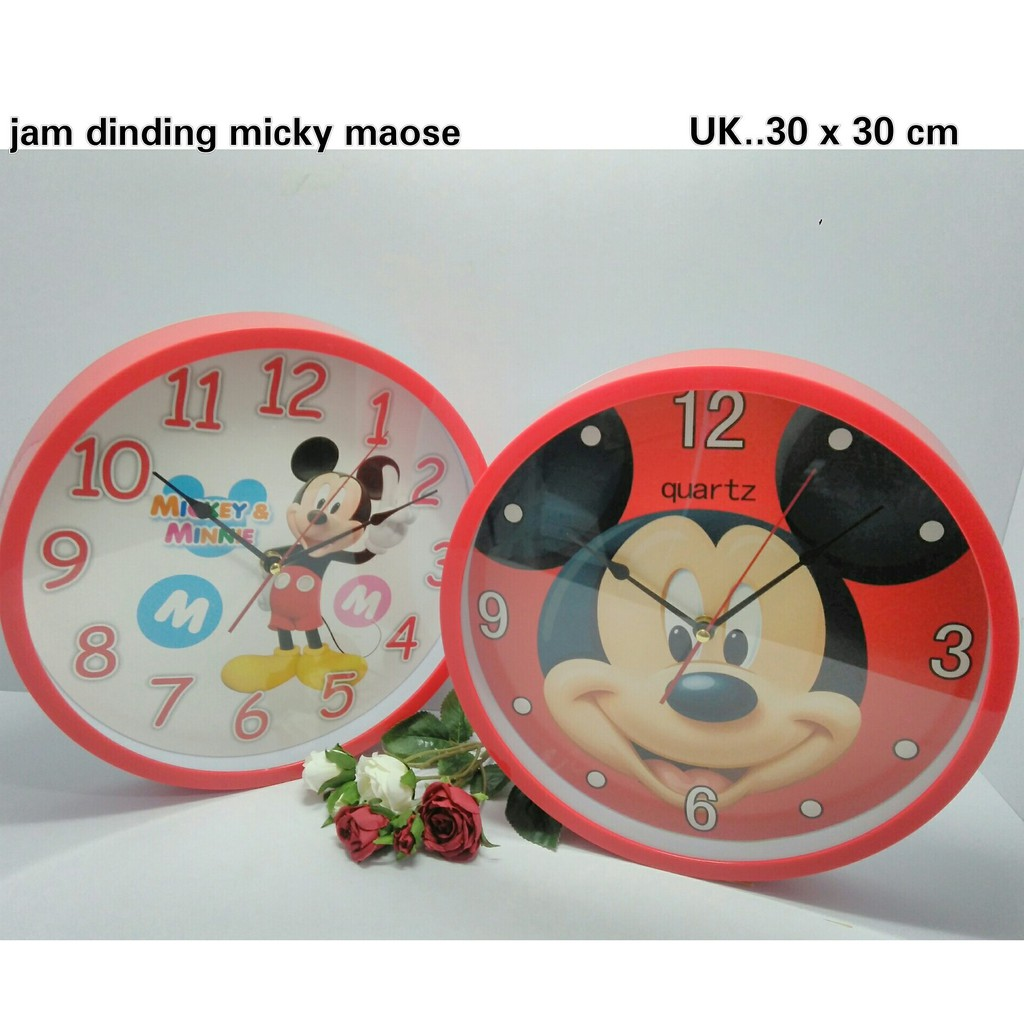 Jam Dinding Mickey Mouse  20d0e78f53