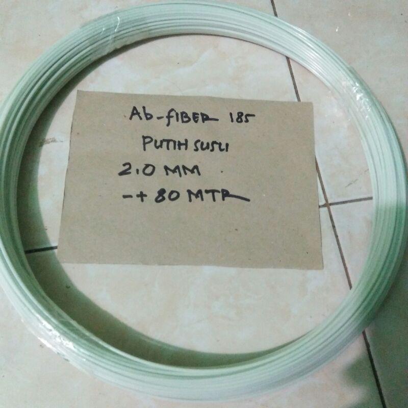 jeruji fiber sangkar/layang2 naga putih susu ukuran 2,0mm
