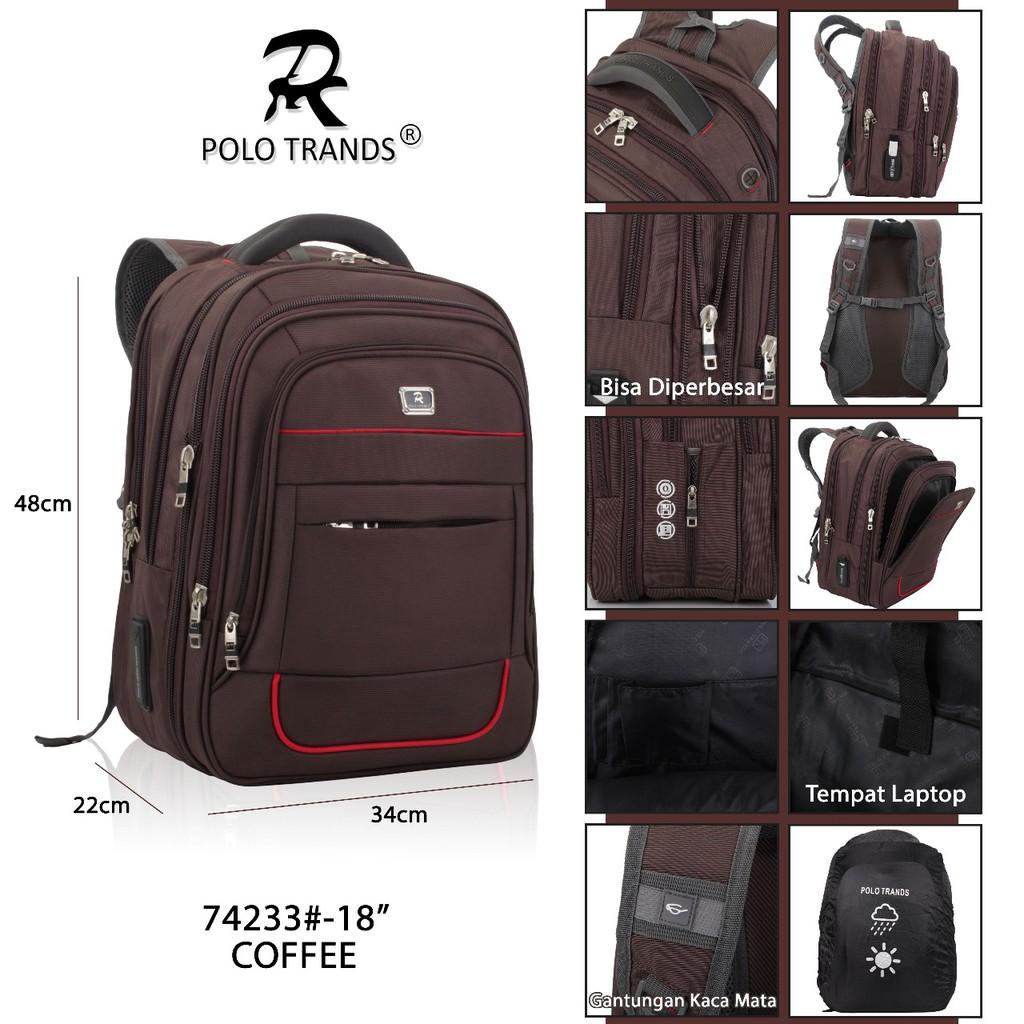 Kekinian Hits Coyyy Ts007 Tas Ransel Punggung Laptop Polo Alfito Shopee Indonesia