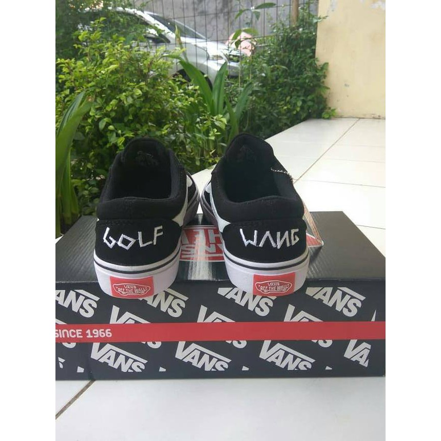 27b5434cb6 Harga preferensial READy!! sepatu vans old skool golf wang black cp ...