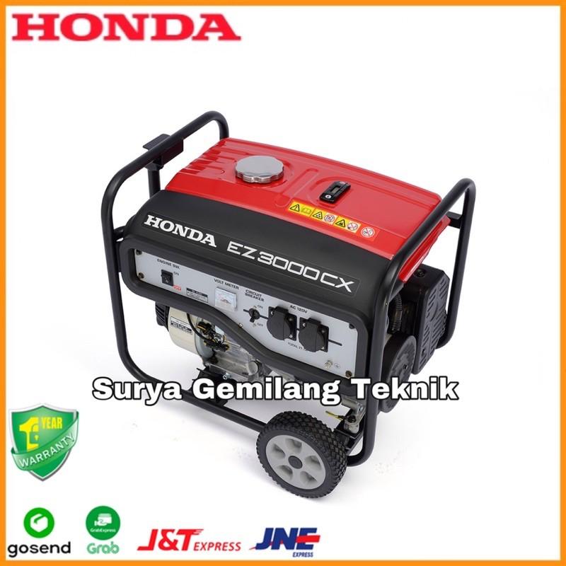 Genset Bensin Honda EZ 3000 CX Generator Genset 2500W Genset Bensin