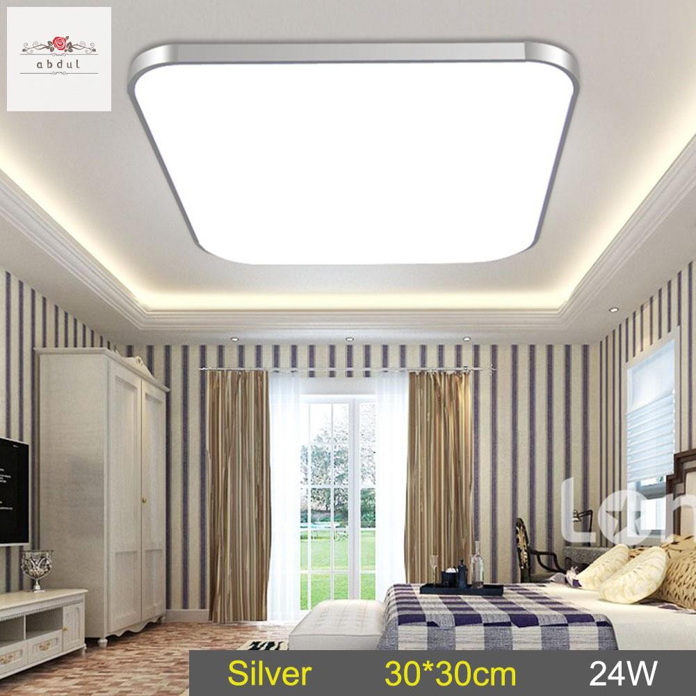 Lampu Plafon Led 24w Hemat Energi Untuk Kamar Tidur Ruang Tamu Shopee Indonesia Lampu plafon ruang tamu