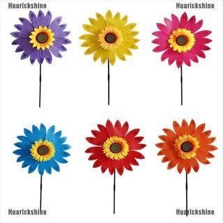 Mainan Kincir Angin Bentuk Bunga Matahari Lapisan Ganda Untuk Dekorasi Taman Shopee Indonesia