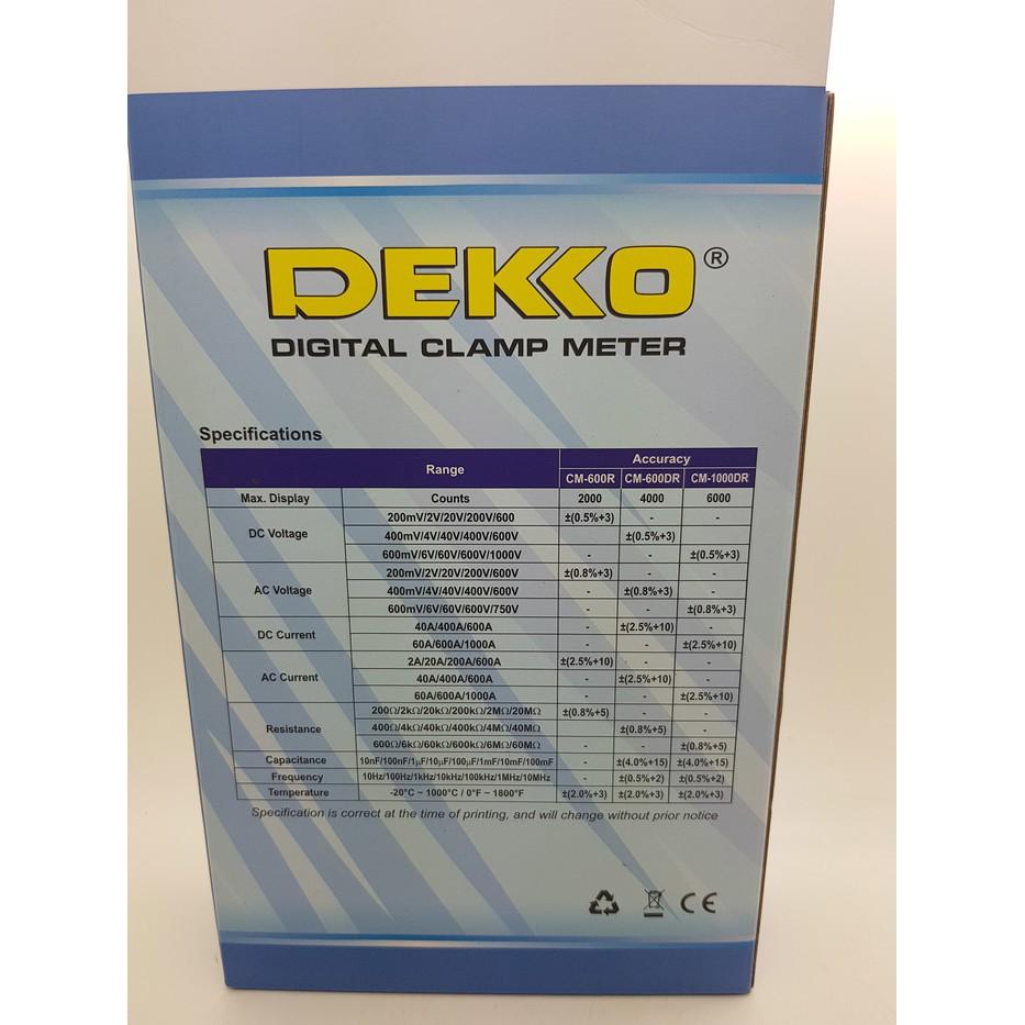 Unik Tang Ampere Digital Clamp Meter Limited Shopee Indonesia Kyoritsu 2002pa