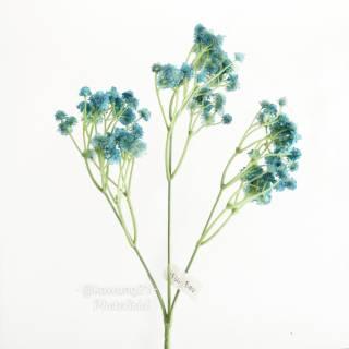af36 bunga baby breath artificial dekorasi rumah shabby