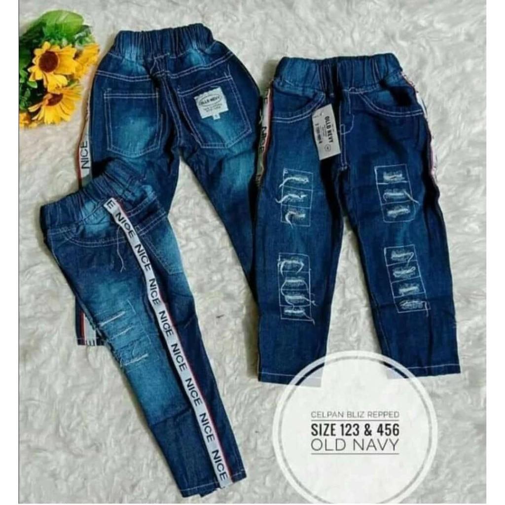 Celana import jeans panjang anak Dongker Nice Old Navy/oshkosh size 1 2 3 | Shopee Indonesia