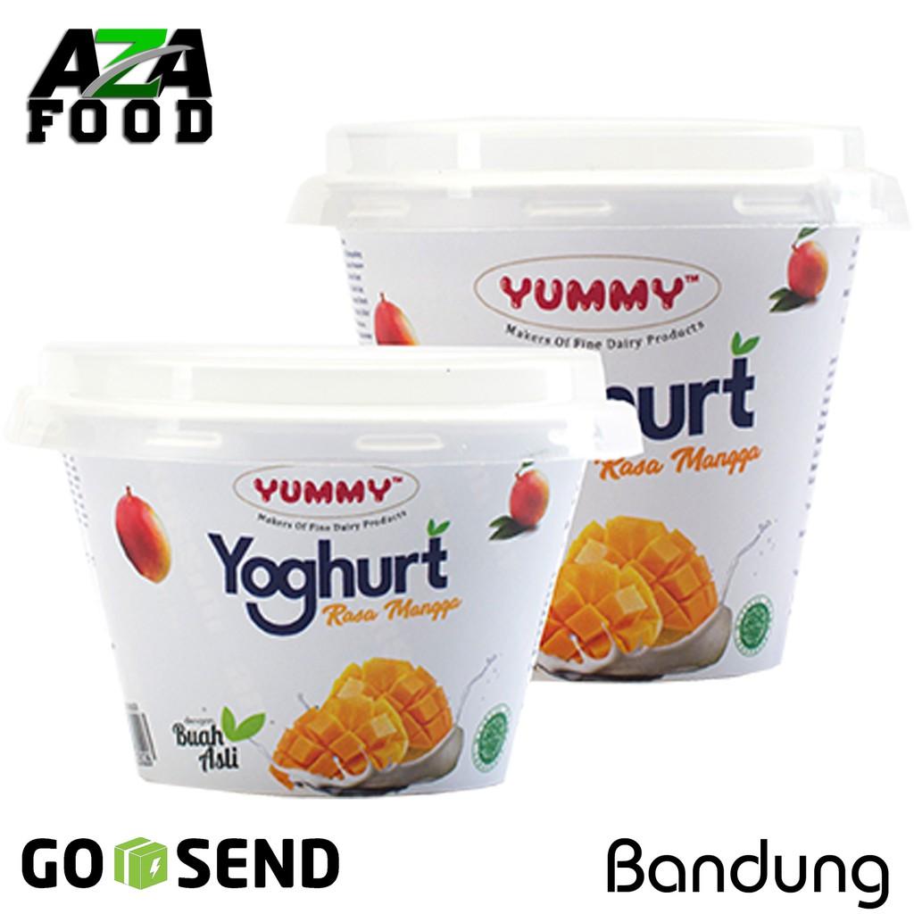 Yummy Yoghurt Natural Plain 500 Gr Shopee Indonesia Heavenly Blush Tummy Yogurt Bar Lime12 Pcs 25gr