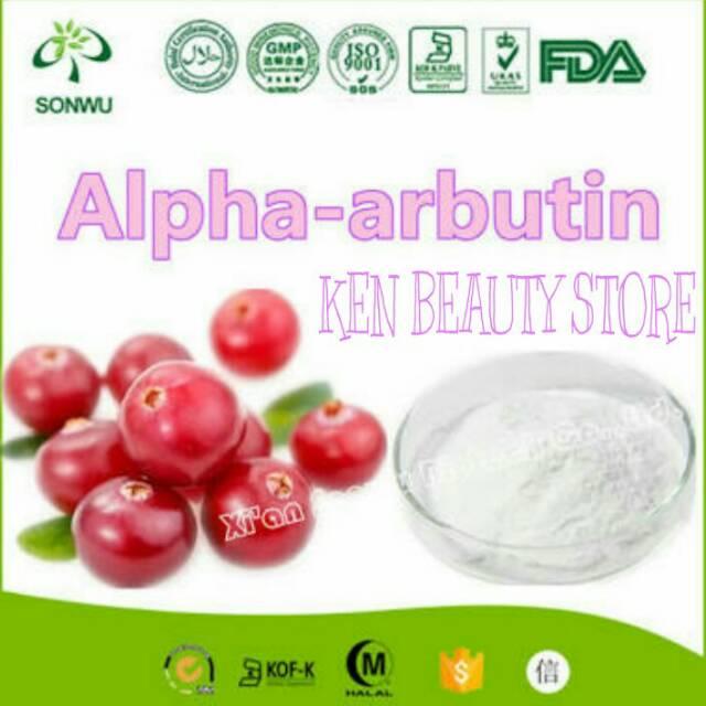 ALPHA ARBUTIN ORIGINAL  || 100% Murni Ex. Canada