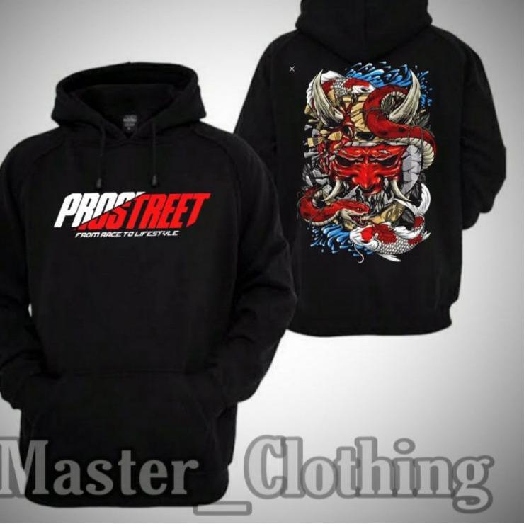 4.4 Great Sale Shopee Hoodie Jaket Sweater PROSTREET THE LAST KOHAKU Keren Sekali