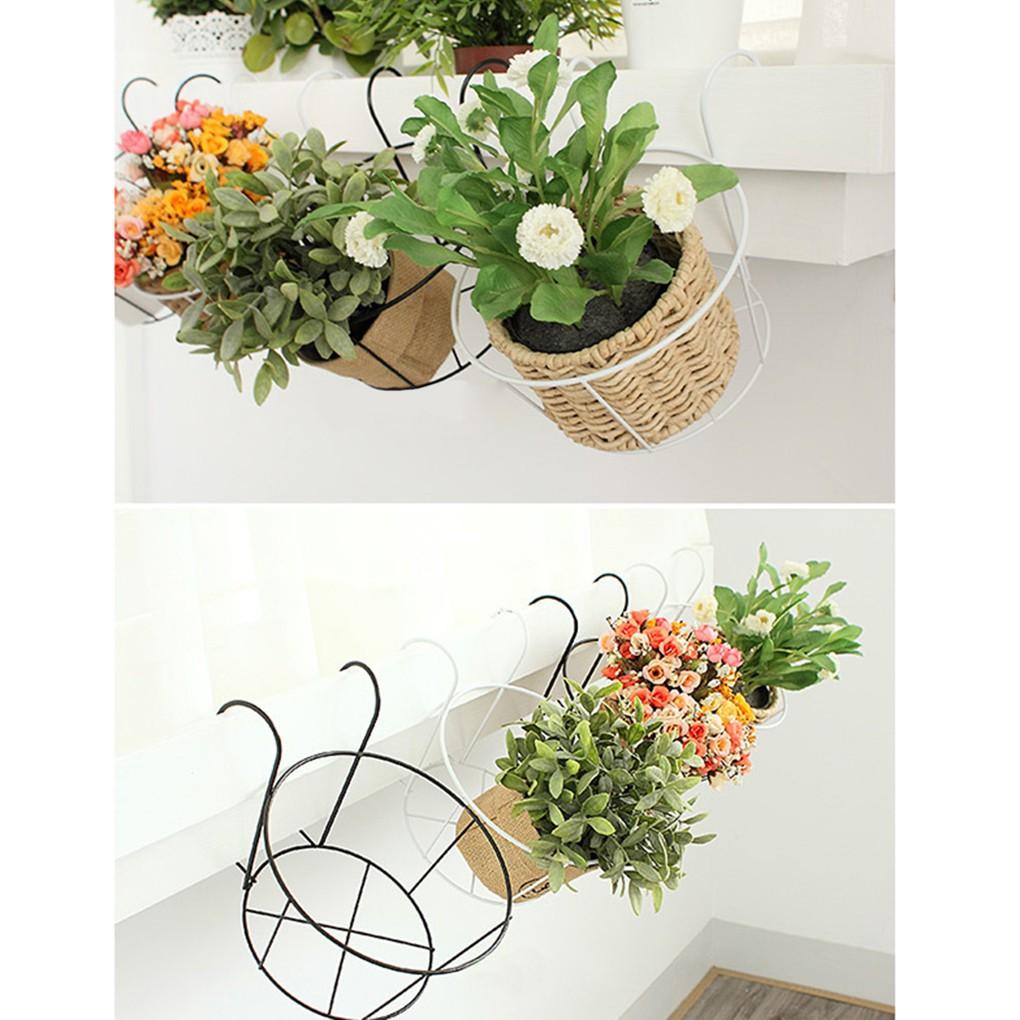 Rak Keranjang Pot Bunga untuk Balkon