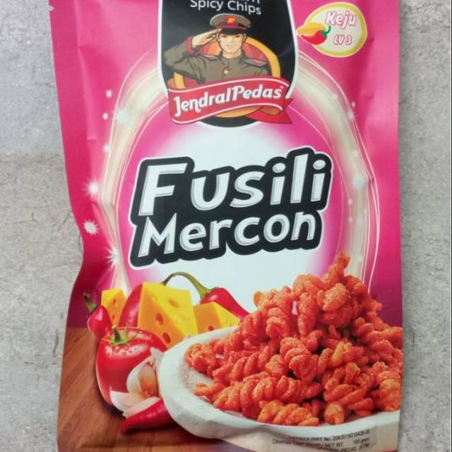"MAKARONI ""JENDRAL PEDAS"" MAKARONI & FUSILI harga 1dus 20pcs   Shopee Indonesia"
