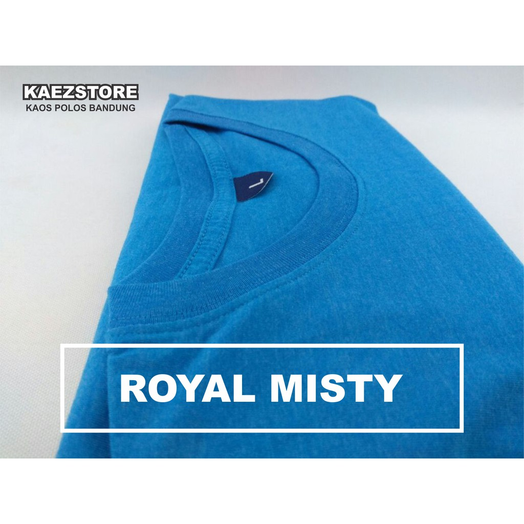 Baju Kaos Polos Lengan Pendek POCKET BLACK MISTY Hitam Misty Saku   Shopee Indonesia