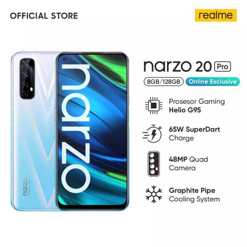 Realme Narzo 20 / 20 PRO 8/128GB Garansi Resmi 1 tahun narzo 20 4/64GB | Shopee Indonesia
