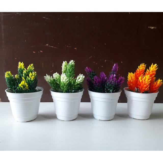 Pot Bunga Hias Bunga Plastik Bunga Palsu Bunga Artifisial Kaktus Hiasan Rumah Shabby Home Decor Shopee Indonesia
