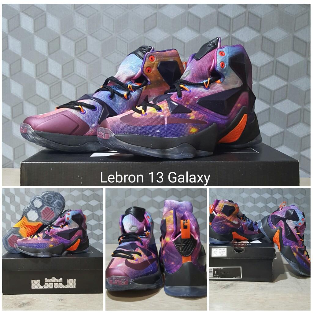 Dijual Sepatu Basket Lebron 13 Galaxy Diskon  57d2feeea6