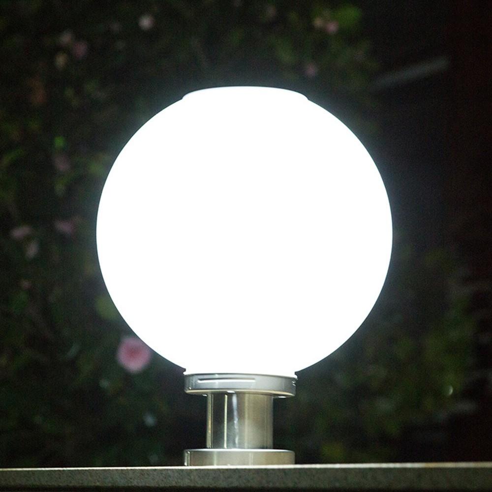Lampu Taman Led Tenaga Surya Bentuk Bulat Untuk Outdoor Shopee Indonesia