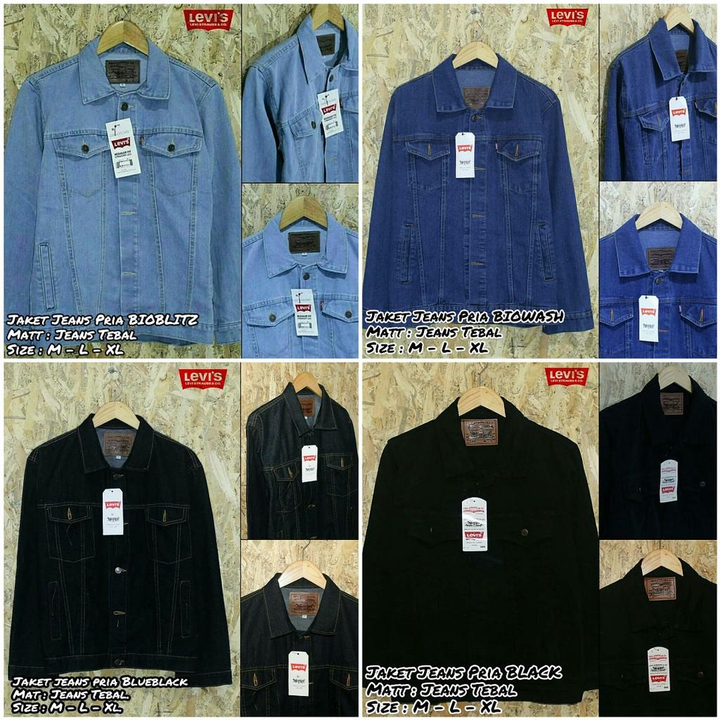 Jaket Levis Pria Shopee Indonesia Jeans Levi S Basic