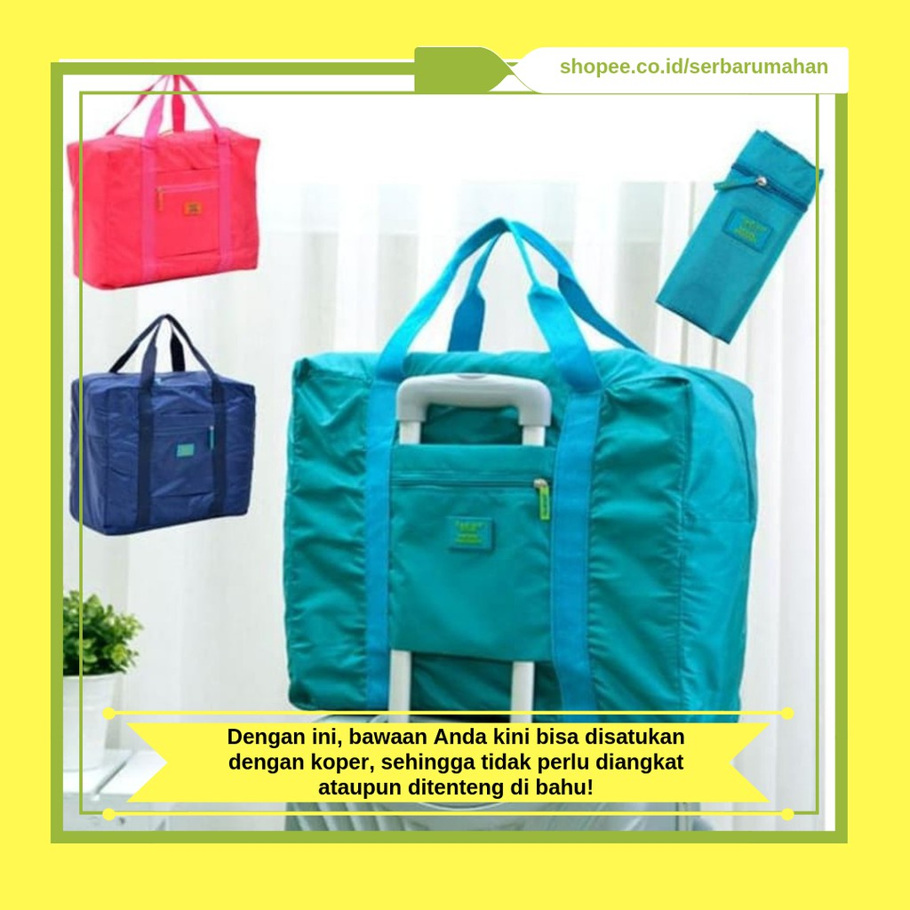 Tas Koper besar, Luggage Bag, Tas Tambahan, Travel Bag, Tas Travel   Shopee Indonesia