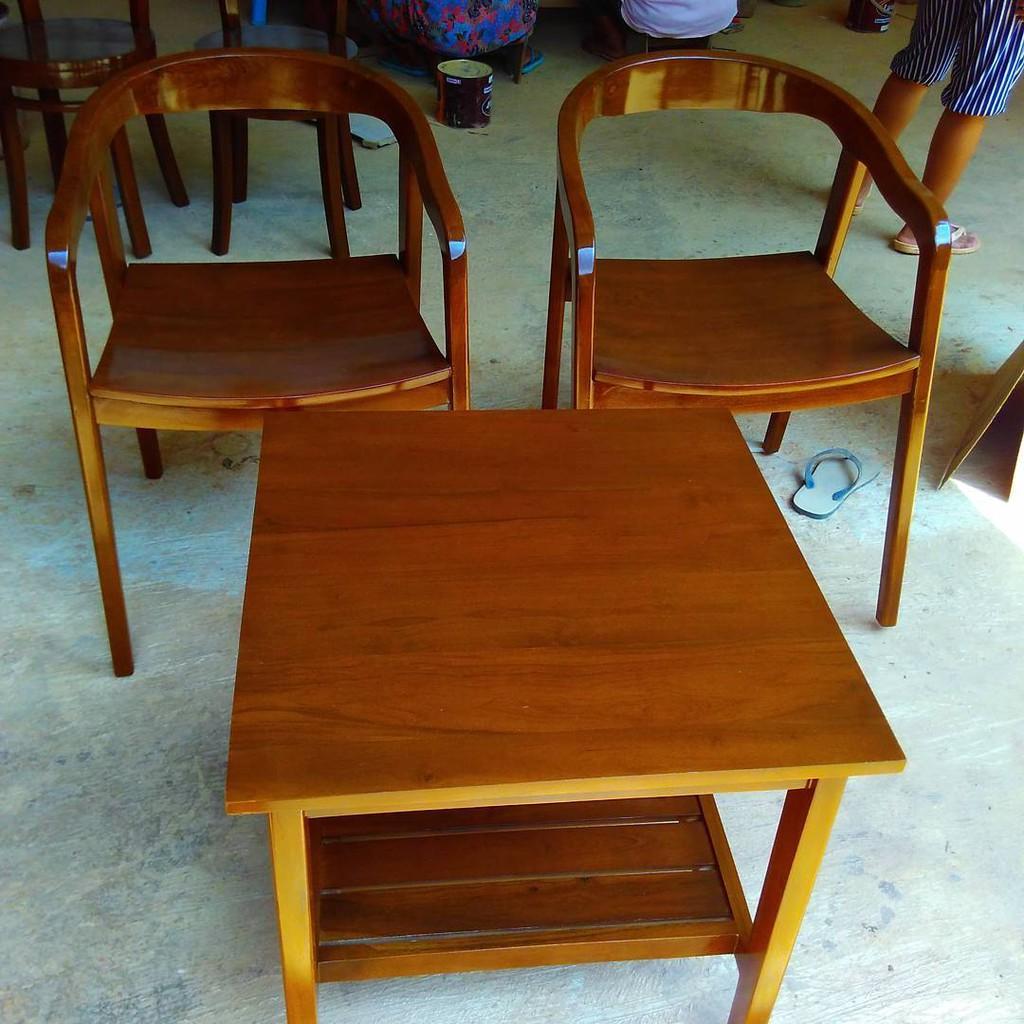 Kursi Teras Minimalis Temukan Harga Dan Penawaran Furniture Online Roda Jati Terbaik Perlengkapan Rumah November 2018 Shopee Indonesia