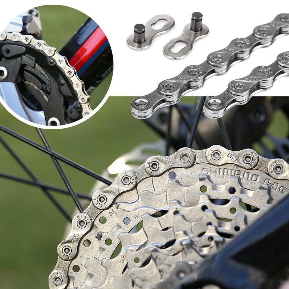 IG51 MTB Road Bike Chain Steel Bicycle Chain 6//7//8 Speed Chain 116L For Shimano