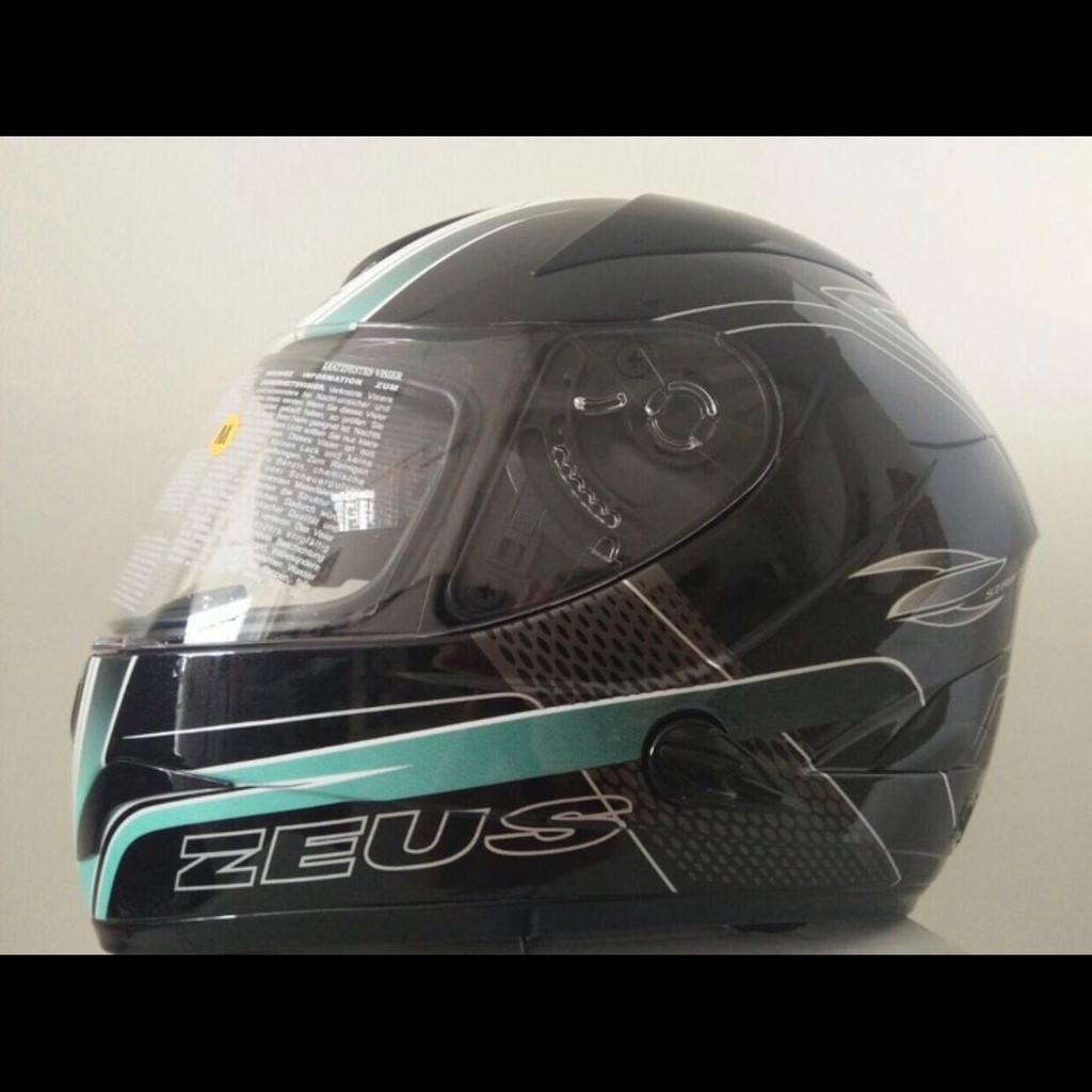 Helm Fullface Temukan Harga Dan Penawaran Online Terbaik Zeus 811 White Black Green Al3 M L Xl Otomotif November 2018 Shopee Indonesia