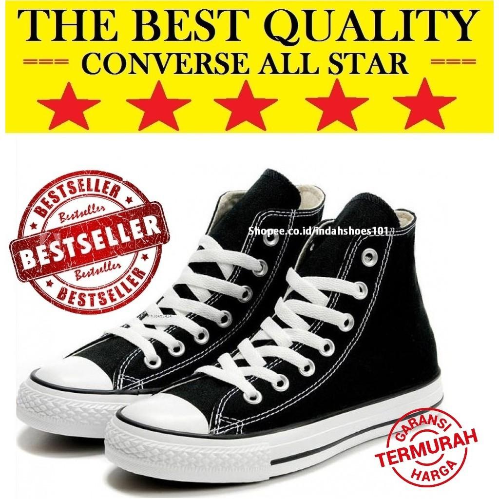 101 ® - Sepatu Converse CT All Star Classic Boot Hitam Original Premium  Made in Indonesia BNIB  f8b4999dbc