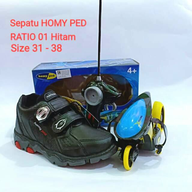 Sepatu Sekolah Homyped Ratio 01 Berhadiah Cyclone Shopee Indonesia