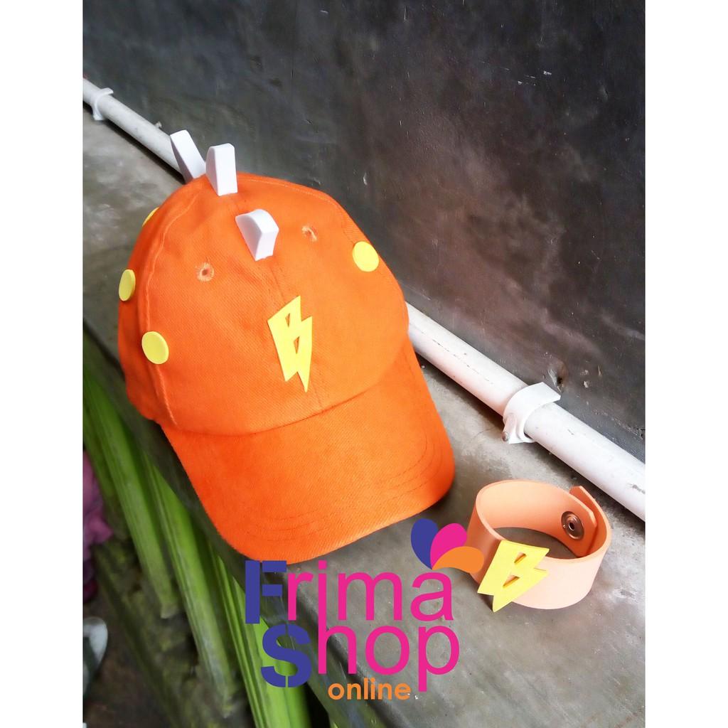 TOPI BOBOIBOY SOLAR + GELANG  2a5072a55c