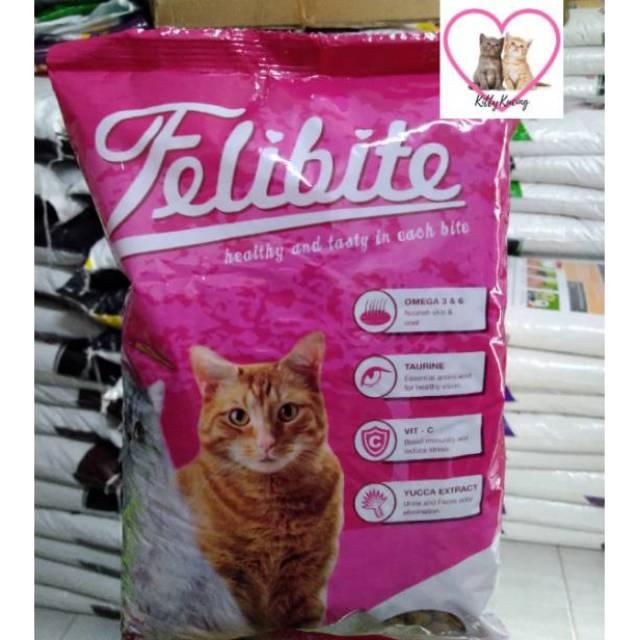 Makanan Kucing Felibite 10kg Shopee Indonesia