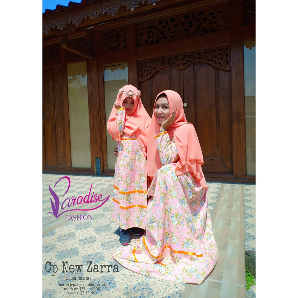 Big Promo Baju Anak Gamis New Zarra Syari Kids Couple Murah Edisi Lebaran Shopee Indonesia