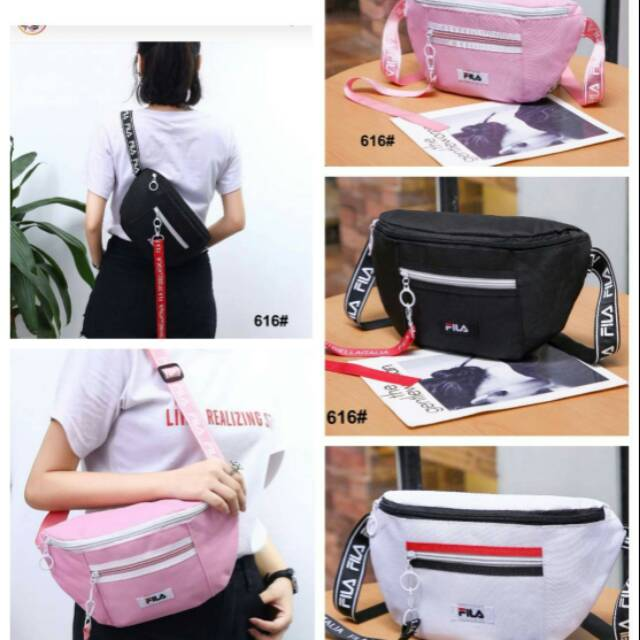 Tas fila handbag slingbag tas selempang fashion wanita murah Lokal ... 5616a3e9e4