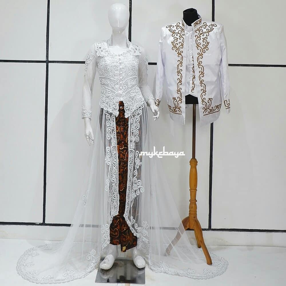 Kebaya Pengantin Cantik Murah Baju Pengantin Modern