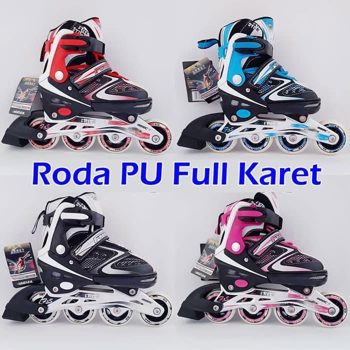 sepatu roda bajaj anak power superb murah full set sepatu inline skate  NFS-16 !!  e64b50288e