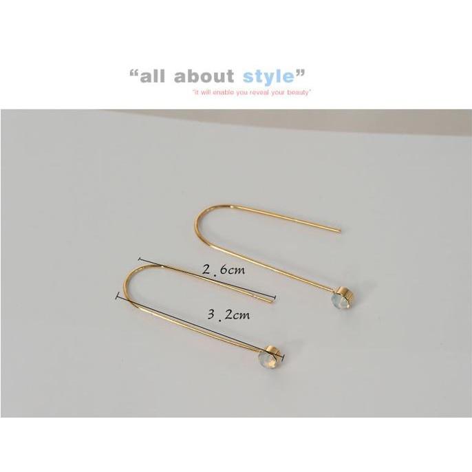 Unik Anting Korea Daun Asimetris Asymmetric Leaf Clip Dangle Earring Beauty Murah | Shopee Indonesia