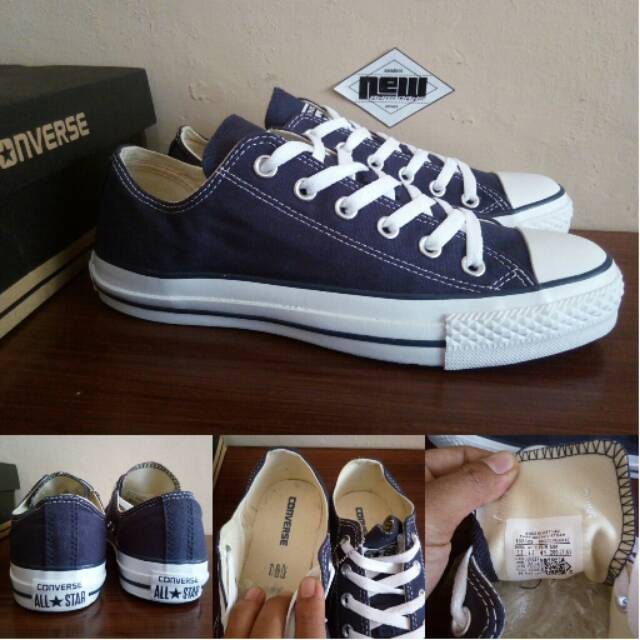 Sepatu Converse CT All Star Fashion Skull Bones Navy Blue High Original  Premium Made In Vietnam BNIB  74c94649c5