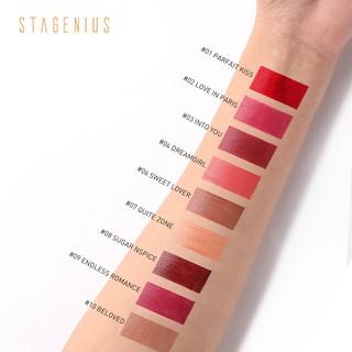 Stagenius Lipstick Matte 9 Jam dengan 12 Pilihan Warna 2