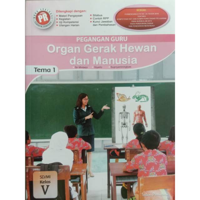 Buku Pegangan Guru Pr Tematik Kelas 5 Tema 1 Kurikulum 2013 Intan Pariwara Shopee Indonesia