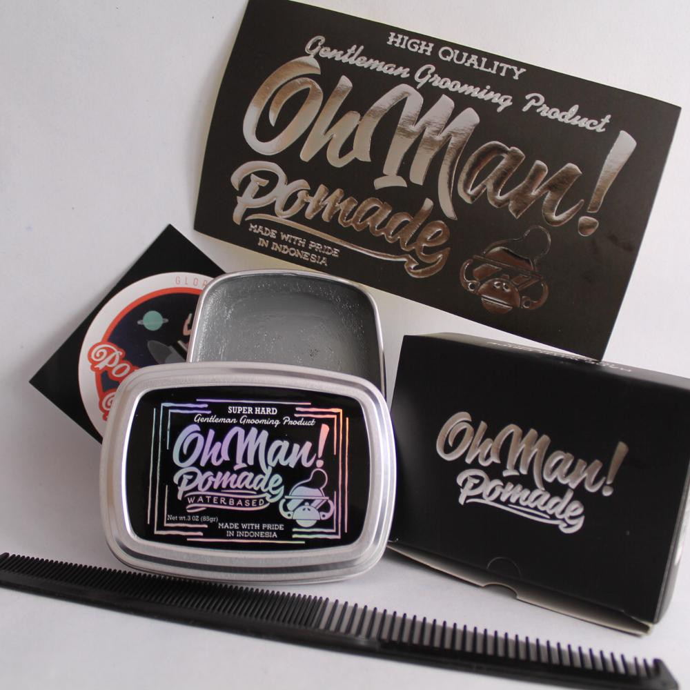 Tezzen Pomade Bravo Free Pouch Sisir Exclusive Shopee Indonesia Alpha Waterbased