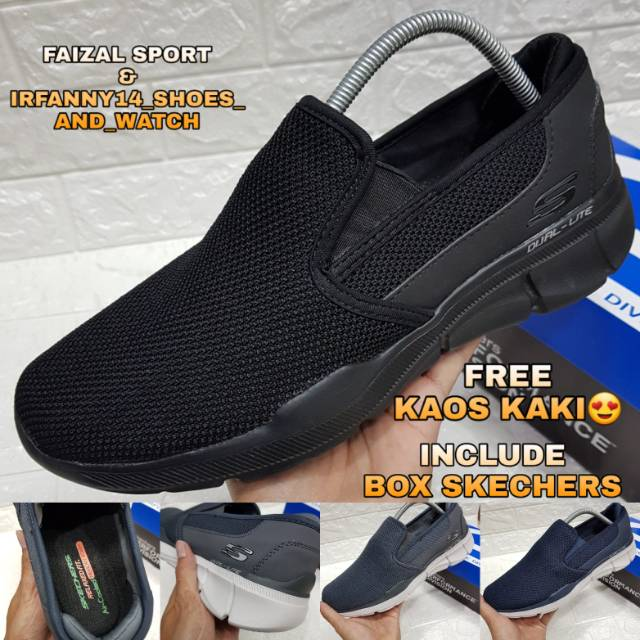 Slip On Pria / Sepatu Skechers Pria / Skechers / Skechers Pria / Skechers Equalizer