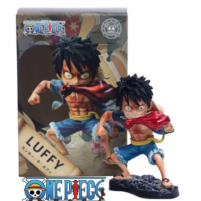 Action Figure Monkey D Luffy One Piece Gear Read Arms Version Koa 1512 Shopee Indonesia