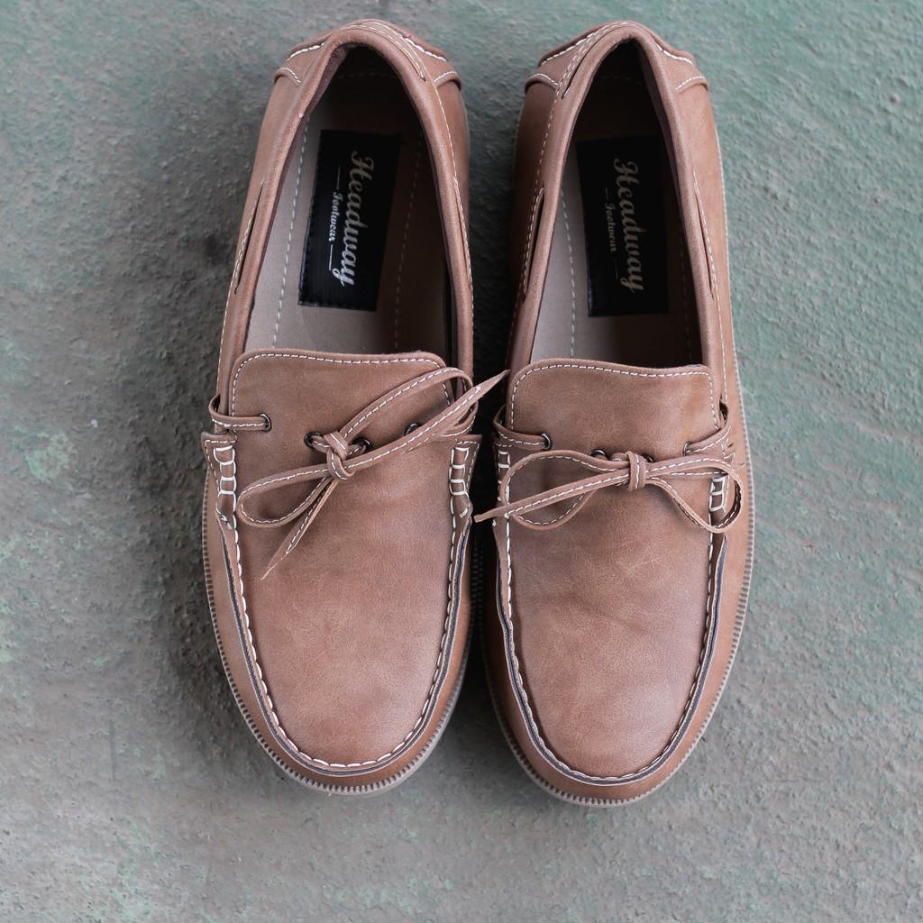 Promo Harga Headway Footwear Sepatu Pria Brown 17 Like Update 2018 Alexandre Christie 1430690 Chronograph Tali Rantai Jam Tangan Silver Sina Shopee Indonesia