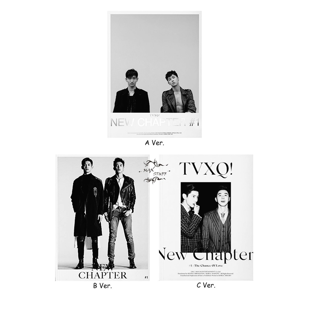 TVXQ 8th Album New Chapter #1 : The Chance Of Love