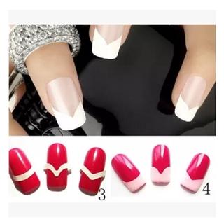 FLASH SALE COD 10 Lembar Stiker Kuku Bahan Kertas Akrilik Uv Untuk Manicure Nails Art Sticker DIY thumbnail