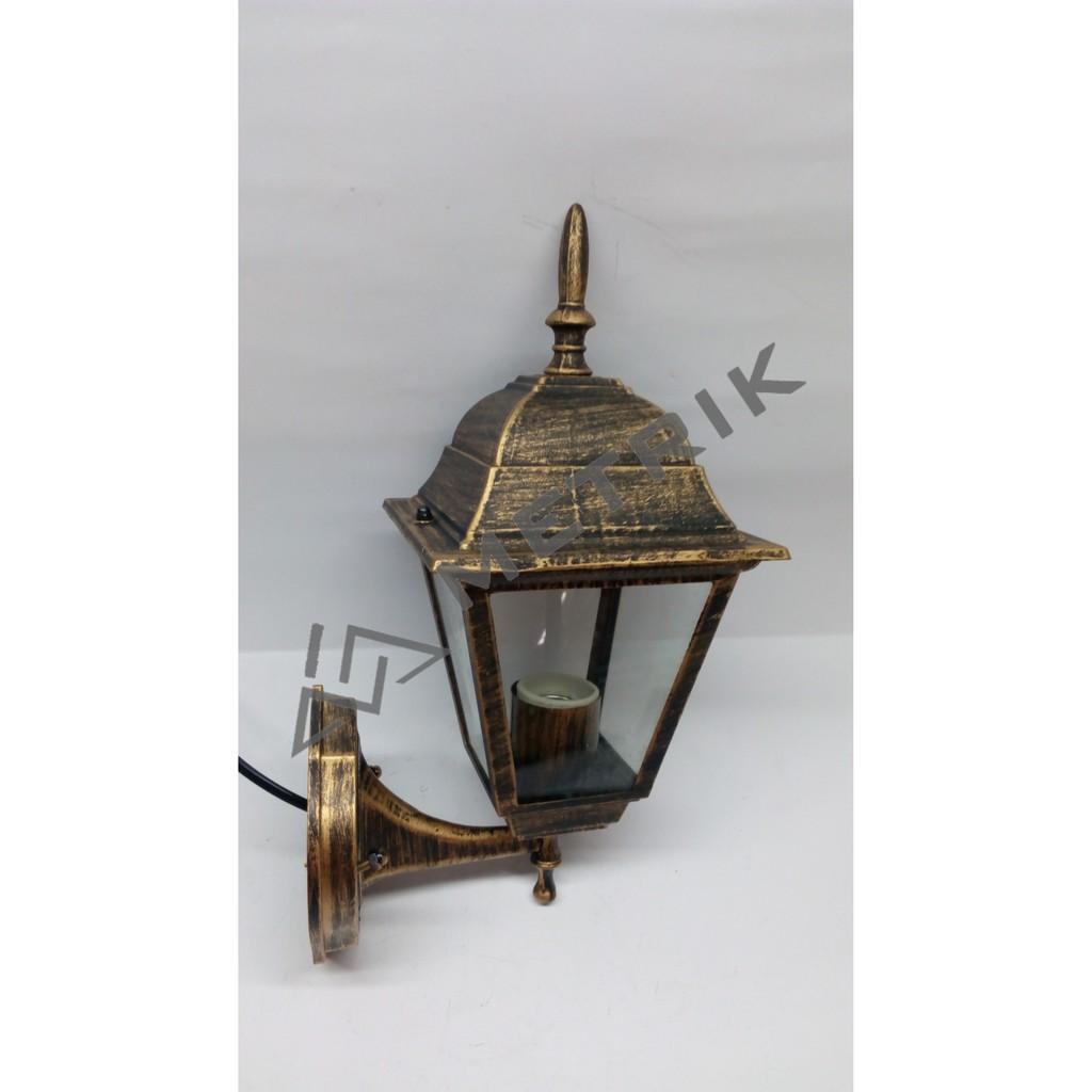 Lampu Dinding Antik Lampu Kuno Lampu Klasik Lampu Jawa Lampu Taman Gb61210 Shopee Indonesia