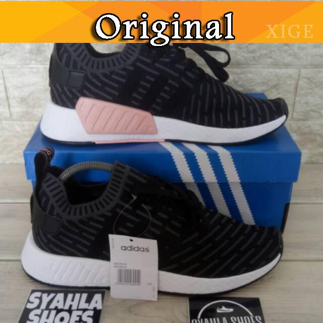 b0689acb93423 Sepatu Sneakers Desain Adidas NMD Human Race Nerd x pharrell.williams untuk  Pria