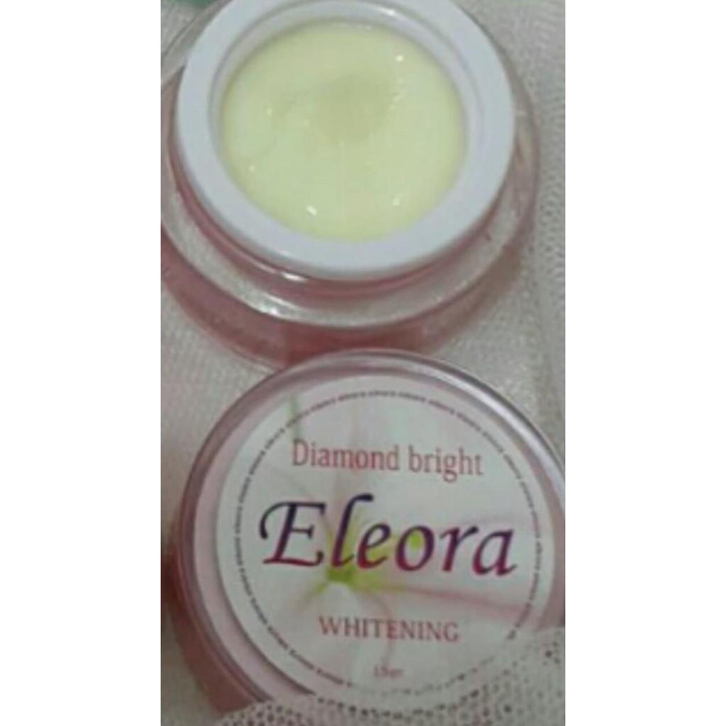 Cream Eleora Diamond Bright Perawatan Untuk Wajah Normal Shopee Leher Indonesia