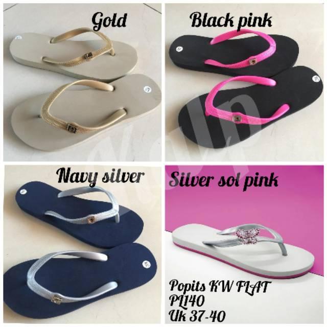 PROMO!!! Sandal Popits KW Super Bahan Rubber 100%  8b85ff879f